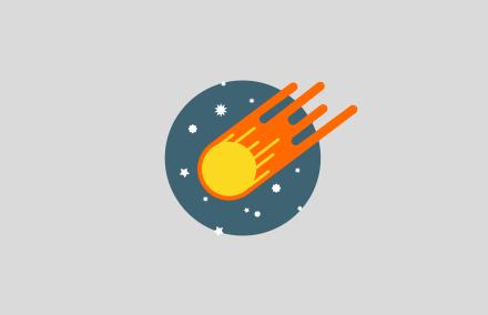 «Космическая» форма входа + мини профиль для DLE
