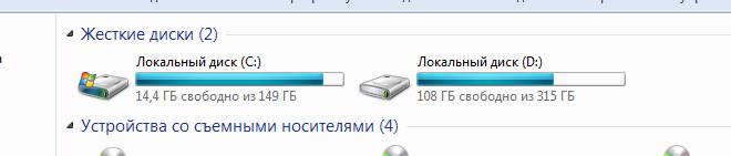 Как исправить ошибку «... первичный рабочий диск переполнен.» в Adobe Photoshop?