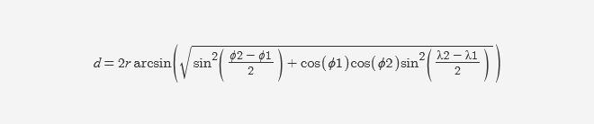 Рассчитываем расстояние между двумя точками на поверхности Земли на PHP/JavaScript